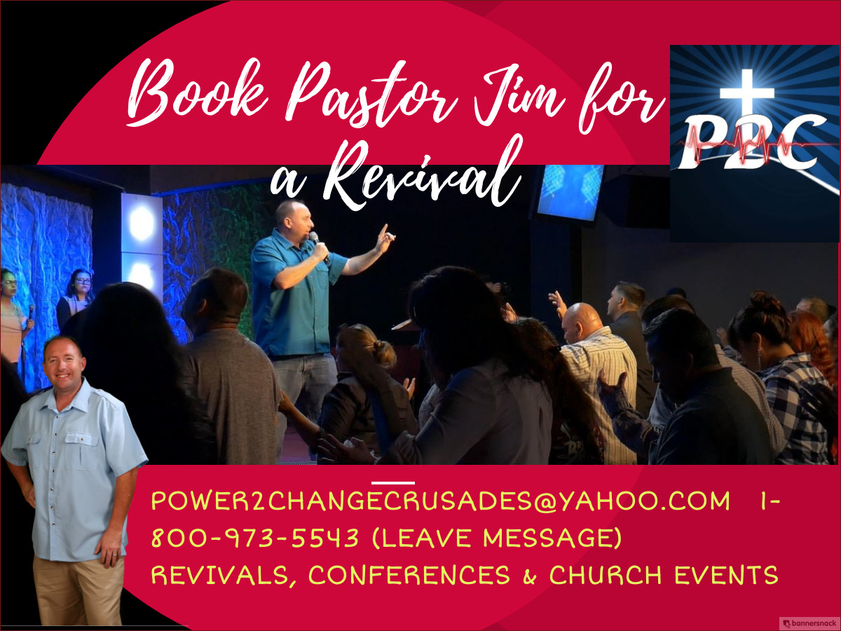 Book Pastor Jim - Updated Again